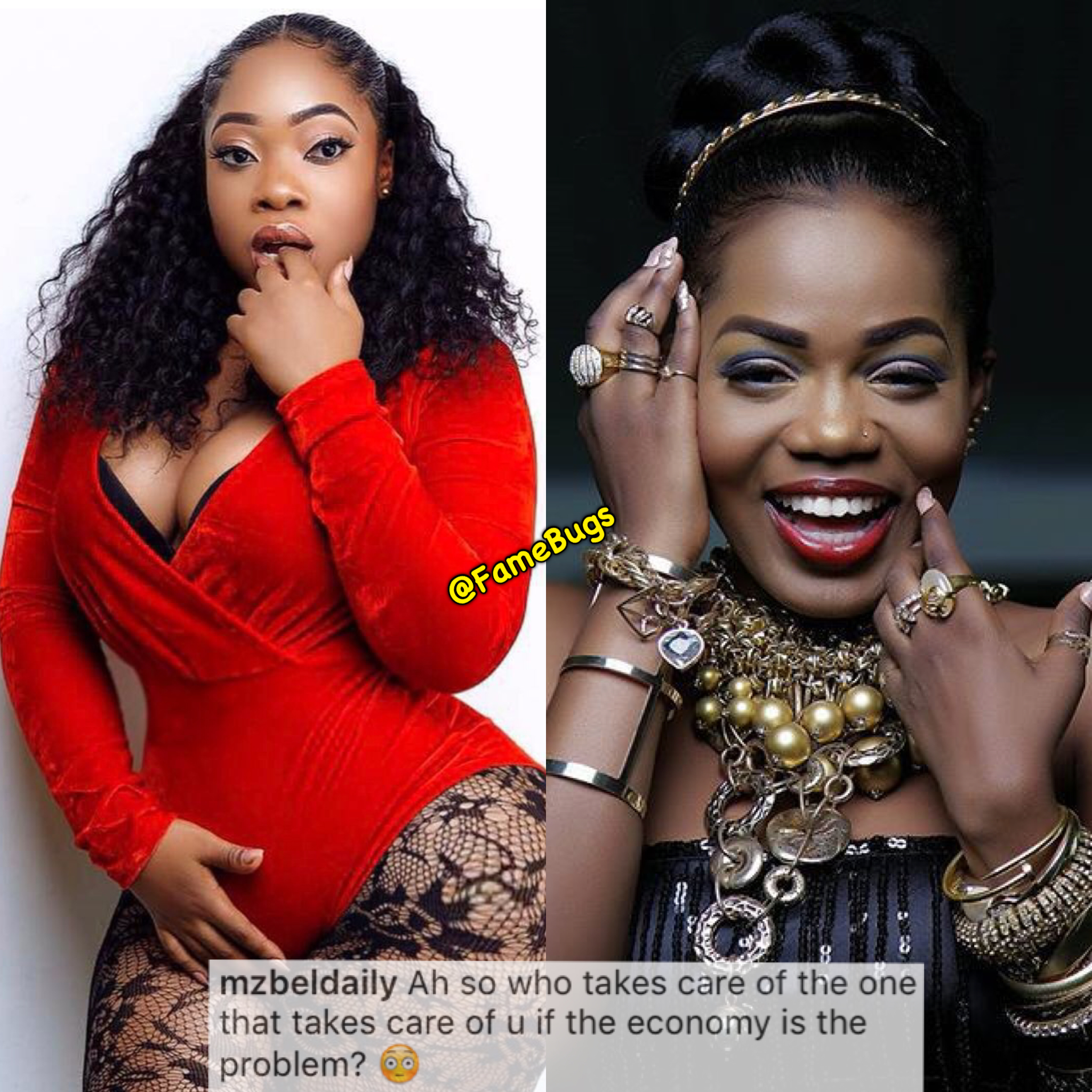 MzBel Throws A Multi Million Question To Moesha Boduong – Who Can Help Moe To Answer?