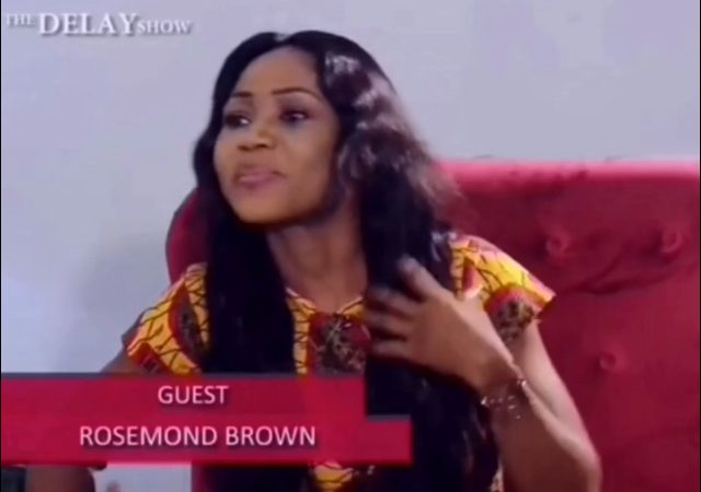 Rosemond Brown Explains Why She Banged Waakye, Fred Amugi & Dated 24 Men [Video]
