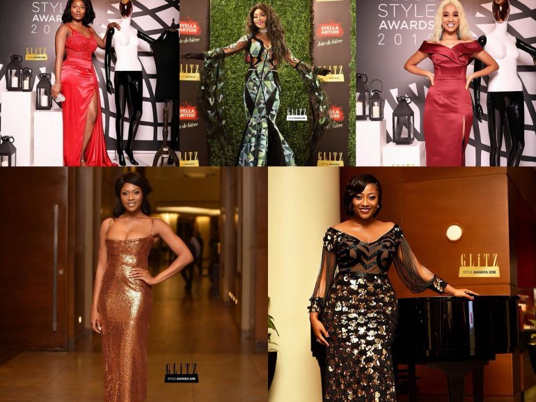 See All The 'Neck Turning' Red Carpet Photos From The 2018 Glitz Africa Awards & Complete List Of Winners