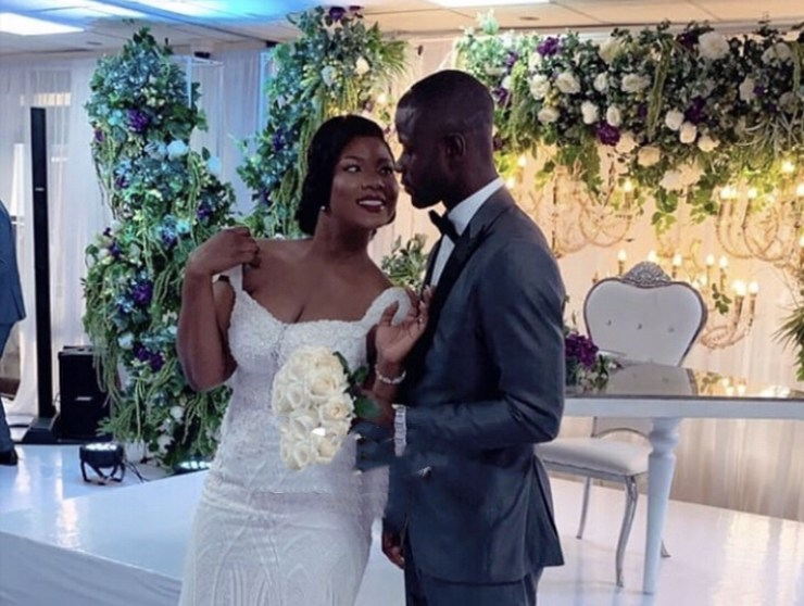 Jonathan Mensah Marries Kafui – See Photos/Video