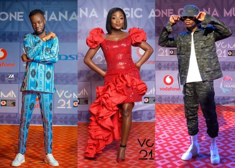Burna Boy Kuami Eugene Sarkodie And All Winners From Vgma 2020 Famebugs
